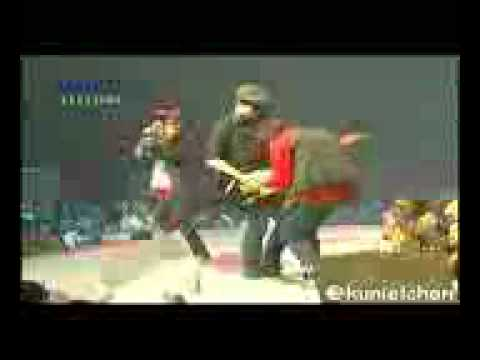 Coboy Junior feat Super-K - Fight at Konser Bday CJR