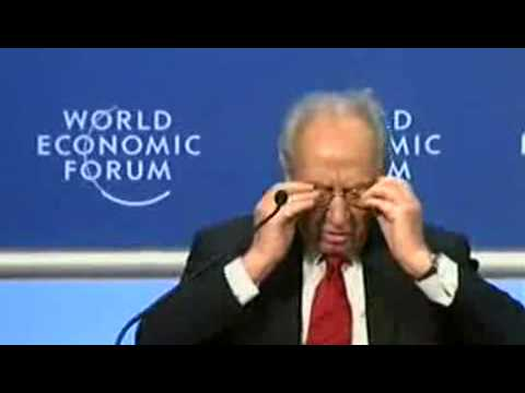 Shimon Peres answer Erdogan - Part 1 of 3