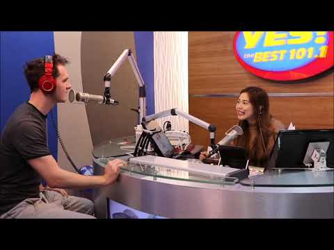 Aussie guests on Filipino Radio Station YES! The Best FM