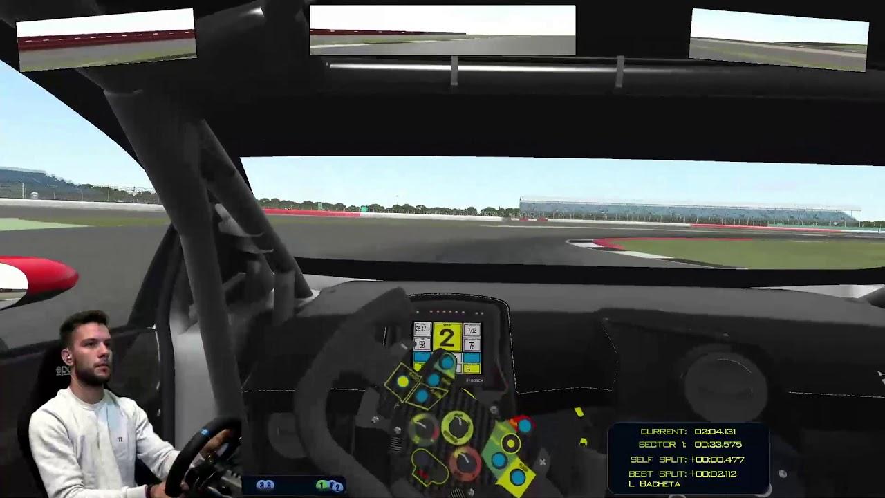 HYDR eSport | rFactor II | Silverstone feat. Dennis Lind