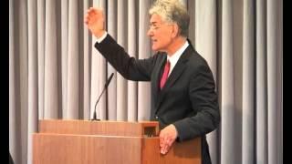 19.04.2015, Prof. Dr. Hans-Joachim Eckstein: Loslassen, um zu ergreifen; vertrauen, um zu erleben