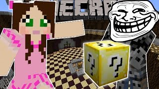 Minecraft: MOB ARMOR TROLLING GAMES - Lucky Block Mod - Modded Mini-Game