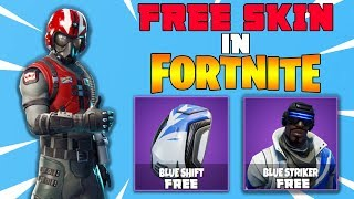 An Actual 'FREE SKIN' in FORTNITE! - How To Download 'BLUE STRIKER' (Fortnite Battle Royale)