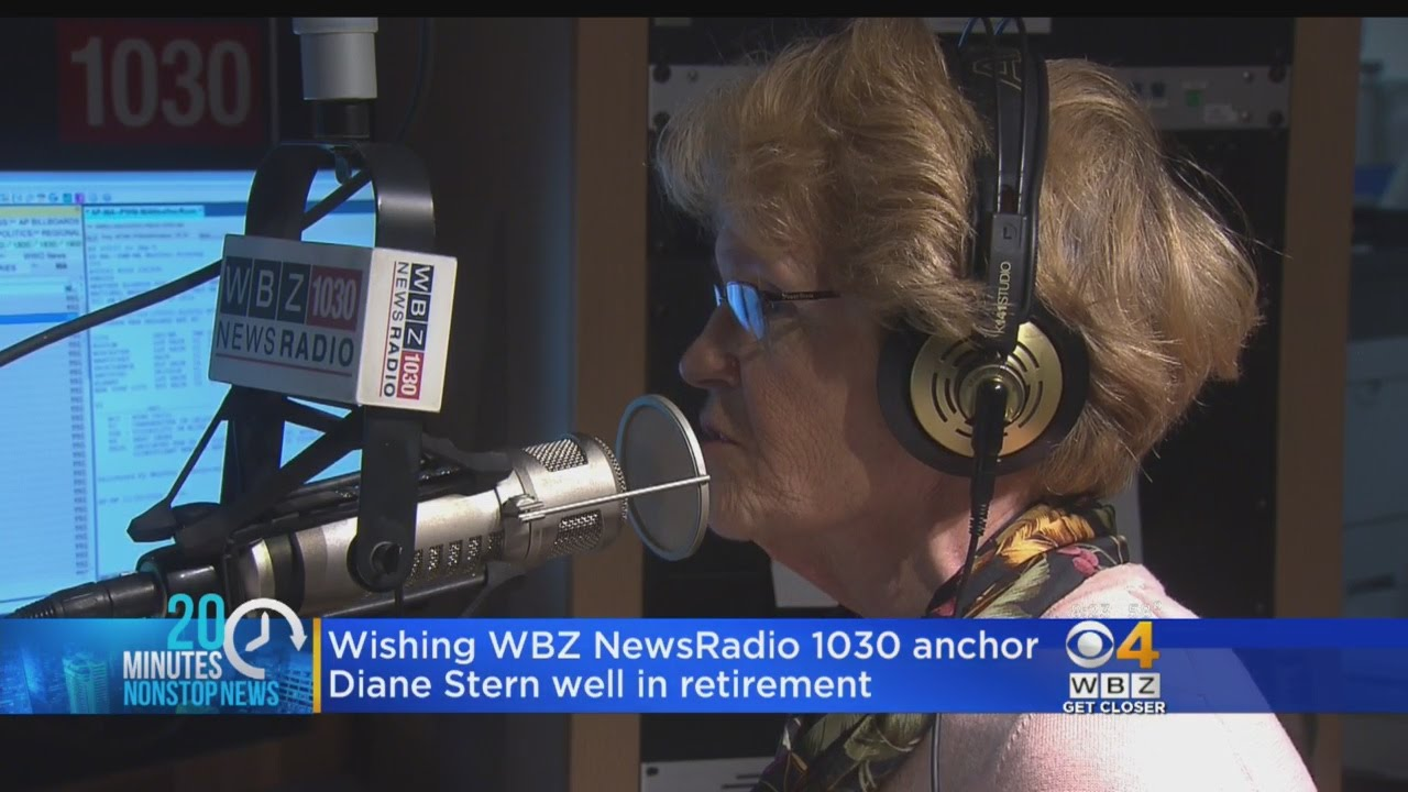 WBZ NewsRadio 1030 Anchor Diane Stern Signs Off For Final Time