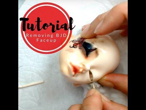 Tutorial:- Removing BJD Faceup