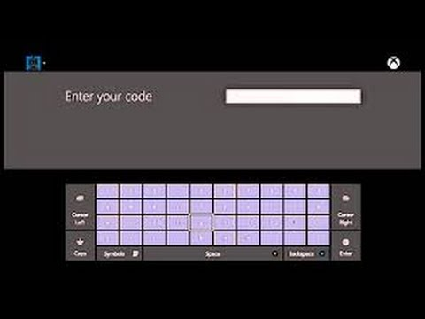 How to put in a gift card code for Xbox one - YouTube