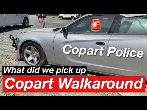 Copart Walk Around and Pick Up. Made Me Puke