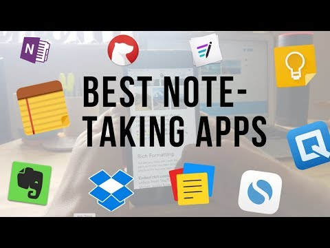 Top 10 Best Note Taking Apps For Android || Nayyar Karajagi