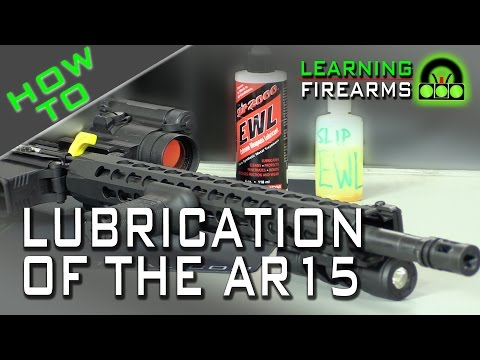 How to Lube the AR15 Ep 1503