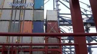 MSC Oscar - aboard the world's biggest container ship!