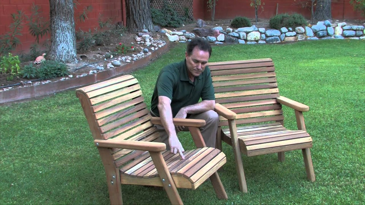 Refurbishing Cedar Lawn Furniture