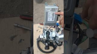 Смазка электроусилителя руля от гранты на Калине без снятия с машины