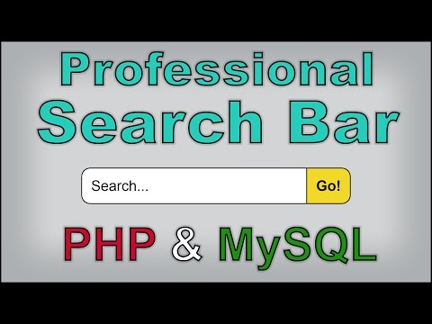 How to Build a Website #4 - Creating a WORKING Search Bar [P
