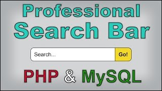 How to Build a Website #4 - Creating a WORKING Search Bar [Part 2] [PHP & MySQL]