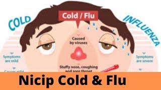 Nicip Cold & Flu Nf Tablets review कोल्ड एंड फ्लू का अचूक और असरदार इलाज !