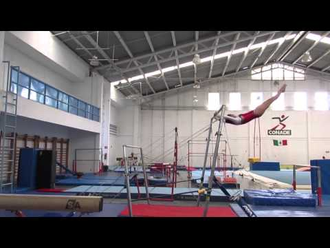 Age Group Programme – Women's Artistic Uneven Bars - High Performance Compulsory 2