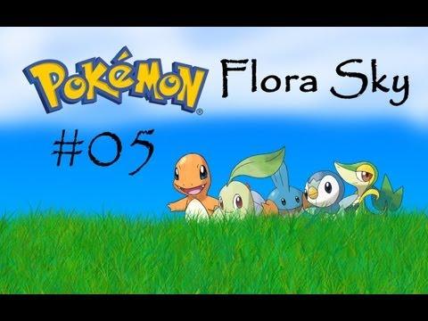 Let's Play! Pokemon Flora Sky [Semi-Blind] - Part 5 - Team Magma