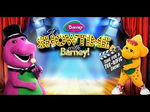 It's Showtime With Barney!