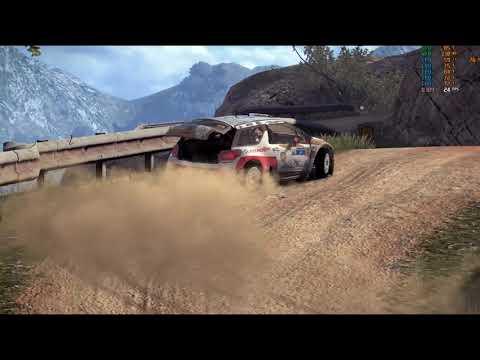 WRC 4 FIA World Rally Championship - Mexico PC Playing
