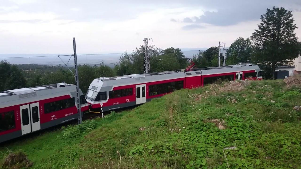 Elektriczka w Tatrzańskiej Poliance