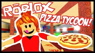 Working At A Pizza Place! - PIZZA FACTORY TYCOON - Roblox