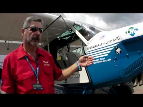 Natural Gas Powered Airplane