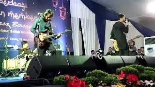 GIGI - Kota Santri Live at bank bjb Kanwil 4, KCK Banten (santunan 1500 anak yatim duafa)