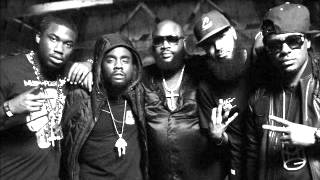 Gunplay - Power Circle Feat Stalley & Wale & Meek Mill & Rick Ross & Kendrick Lamar (BRAND NEW) 2012