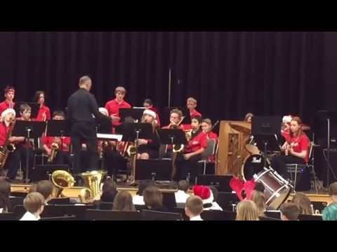 Sellwood Middle School Winter Jazz Band Concert 2016