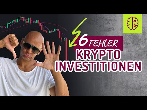 6 Fehler beim Krypto investieren  Altcoins können 1 000x machen im