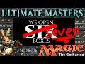 Ultimate Masters SEVEN Box opening - Magic the Gathering (@ Skyward Fire Games)