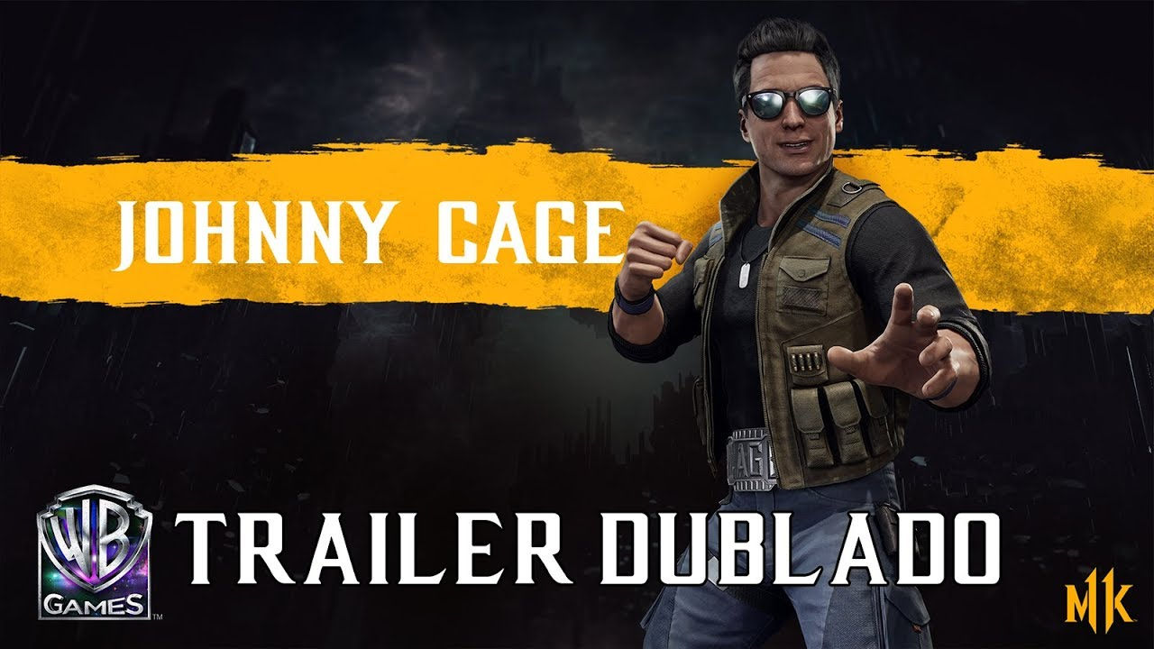 Mortal Kombat 11 - Johnny Cage (Trailer de Revelação Dublado PT-BR)