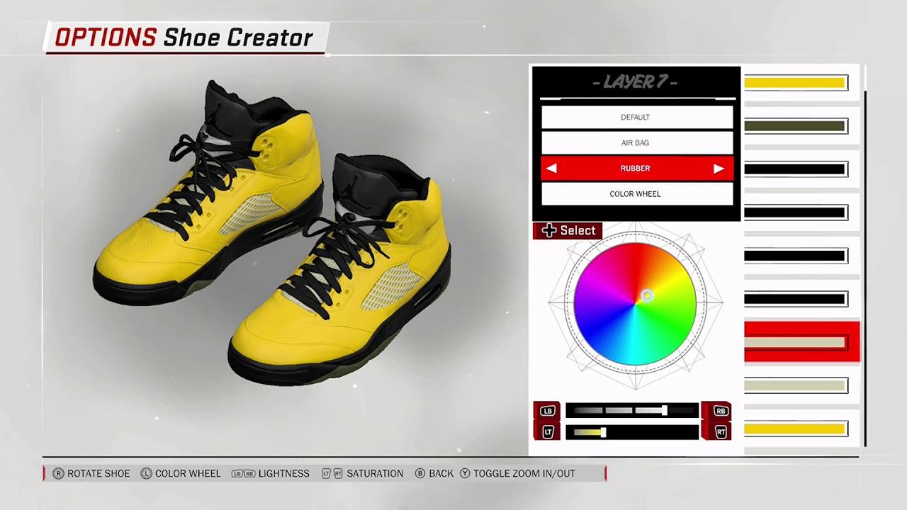 cheap for discount 879f3 4cfcf NBA 2K18 Shoe Creator - Air Jordan 5