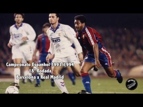 La Cola de Vaca de Romário - Barcelona x Real Madrid - La Liga 93/94