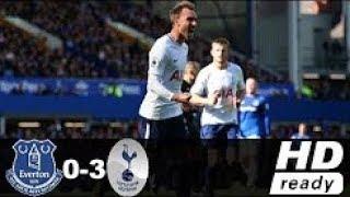 Everton vs Tottenham Hotspur 0-3 Highlights & Goals - Premier League  09 Sep 2017