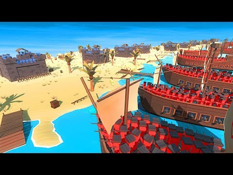 NEW PIRATES D DAY IN ANCIENT WARFARE 3 (Ancient Warfare 3 Funny Gameplay)