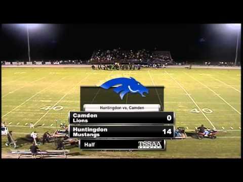 Football - Huntingdon vs. Camden