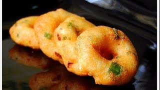 Medhu vadai recipe, ulundu vadai - South Indian