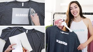 DIY Custom T-Shirts | Iron-On Transfer Paper (Dark & Light)