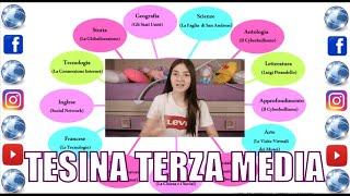 La Mia Tesina Di Terza Media Elaborato Esame I Social E Internet By Marghe Lettera Youtube