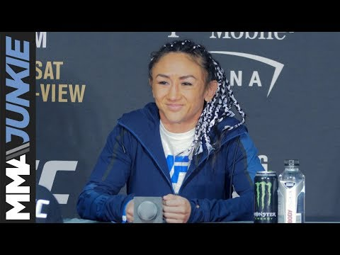 UFC 219: Carla Esparza full post-fight interview