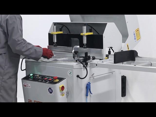Tronzadora de un cabezal para Aluminio y PVC SC 402 de Plastmak en Ventytec. Maquinaria Industrial