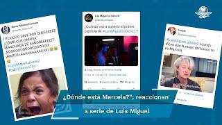 """La segunda temporada de """"Luis Miguel, la serie"""" se estrenó este fin de semana y la duda más frecuente entre los fans es """"¿Dónde está Marcela?"""""""