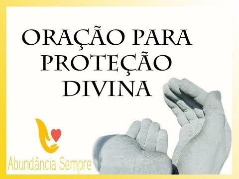 oração proteção mãos