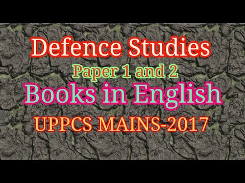 Defence Studies|| English Books