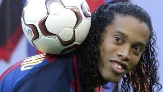 La magia de Ronaldinho, jugadas, goles, burladas, skills, control de balon