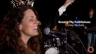 Great Is Thy Faithfulness - Christy Nockels | Worship Circle Hymns