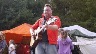 Captain HotKnives at Smugglers Festival 2013