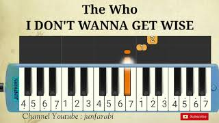 instrumental The Who - I DON'T WANNA GET WISE - melodica