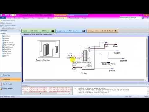 hydrocracking simulation Hysys V8.8